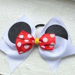 Minnie Mouse Pony Tail Tie Holder